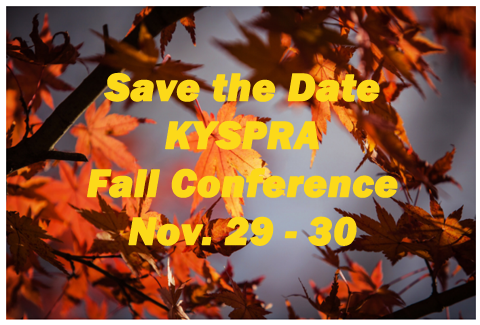 Image for KYSPRA Fall Conference 2018.